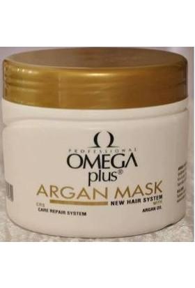 Omega Plus Arganlı Saç Bakım Maskesi 500 Ml