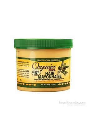 Organics Yoğun Kimyasal İşlem Görmüş Onarıcı Saç Mayonezi Maskesi