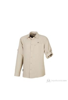 Ferrino Halifax Long Sleeve Erkek Gömlek Bej