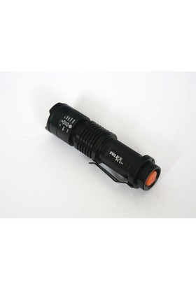 Police Pc-11 Power Led+Zoom El Feneri Kalem Pilli