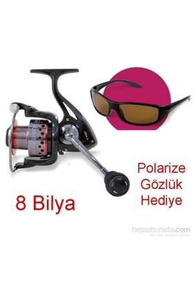 Lineaeffe Sunshine 40 Çok Amaçlı Olta Makinesi Gözlük Hediyeli