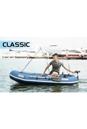 Aqua Marina Classic Advanced Fishing Boat Tenteli Şişme Bot+Gaz Motor Aparatı