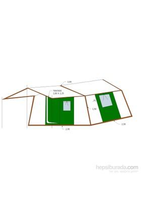 Tunç İçten Kurmalı - Tek Odalı Kamp Çadırı