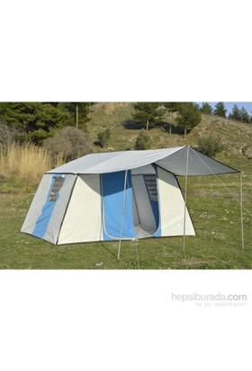 Tunç İçten Kurmalı -İki Odalı Kamp Çadırı