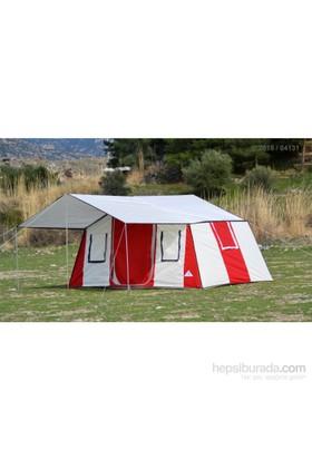 Tunç İçten Kurmalı -İki Oda Bir Salon Kamp Çadırı