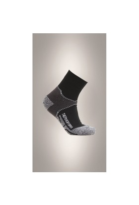 Thermoform Coolmax Walking Siyah Patik Çorap