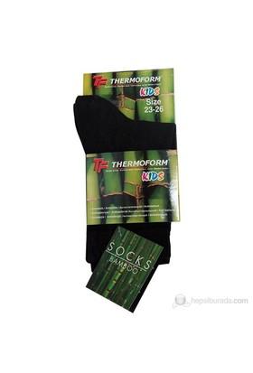 Thermoform Unisex Bambu Çocuk Çorap