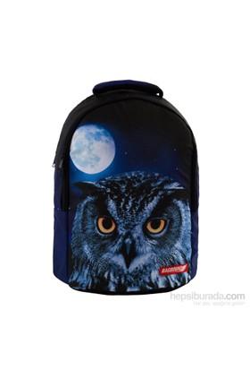 Bagbound Owl Baskılı Sırt Çantası