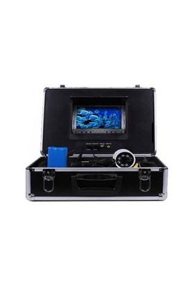 Opax Ca-1093 7 İnch Tft Lcd Monitörlü 100 Metre Sualtı, Su Kuyusu Kontrol Kamerası 800 Tv Line