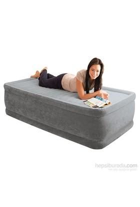 Intex Comfort Plus Kendinden Pompalı Yüksek Yatak (99x191x46Cm) - 64412