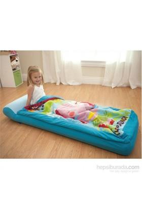 Intex Çantalı Tulumlu Çocuk Yatağı 64X152X20 Cm