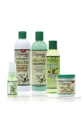 Organics Saç Uzamasını Hızlandıran Zeytinyağlı Saç Bakım Seti 4'Lü
