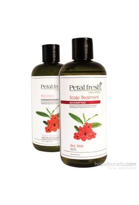Petal Fresh Deri Problemleri & Dökülme Önleyen Organik Saç Bakım Seti 2'Li Set 950Ml