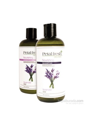 Petal Fresh Kuru Saç Besleyici&Nemlendirici Organik Bakım Seti 2'Li Set 950Ml