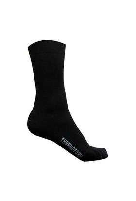 Thermoform Yazlık Bamboo Askeri Siyah Çorap