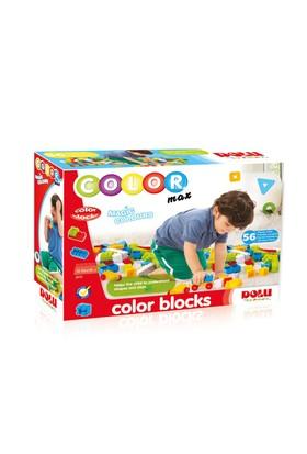 Dolu Renkli Bloklar 56 Parça