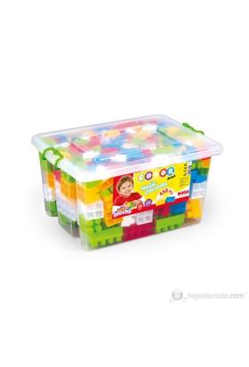 Dolu Sandıkta Büyük Renkli Bloklar 450 Parça