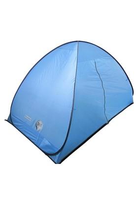 Çadır Pop-Up 2 Kişi :230X140x125 Cm A. Mavi - Siyah