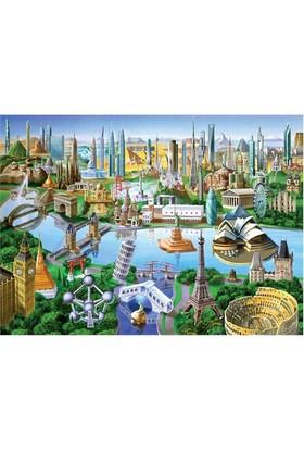 Masterpieces 1000 Parça Puzzle Landmarks Of The World