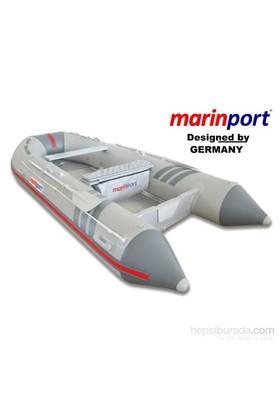 Marinport 3.90 Mt. Ahşap Katlanır Tabanlı Şişme Bot (Mp390 Ah)