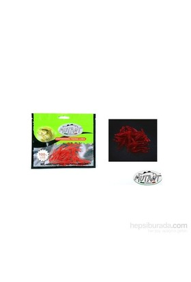 Mutant 3510 - 01 Ozmo Plastik Solucan Suni Yem 3,8 Cm 30 Lu Paket