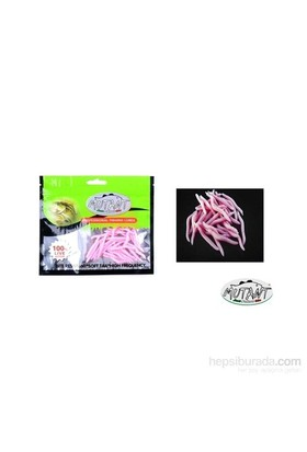 Mutant 3510 - 04 Ozmo Plastik Solucan Suni Yem 3,8 Cm 30 Lu Paket