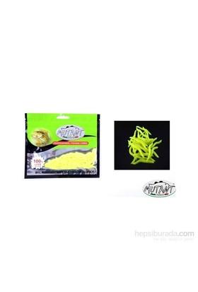 Mutant 3510 - 06 Ozmo Plastik Solucan Suni Yem 3,8 Cm 30 Lu Paket