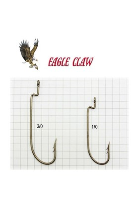 Eagle Claw Lt095jbr Laser Sharp Bronz İğne 8 Adet No:3/0