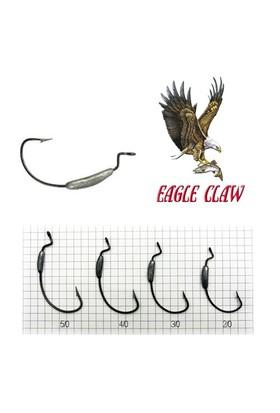 Eagle Claw L092-G Laser Sharp Siyah İğne 5 Adet No:4/0