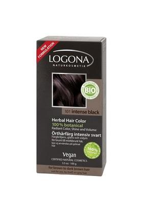 Logona Bitkisel Toz Saç Boyası - Siyah