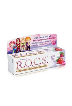 R.O.C.S. Kids Ahududu& Çilek Çocuk Diş Macunu