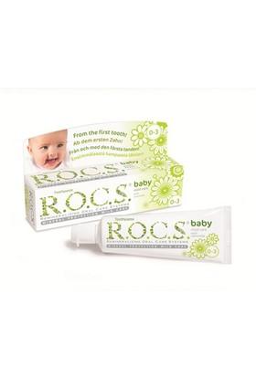 Rocs Baby Papatya Özlü Diş Macunu (0-3Yaş)