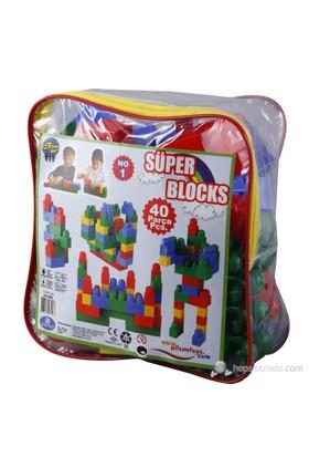 Pilsan Süper Bloklar (40 Parça)