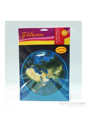 Artikel Fosforlu Duvar Sticker Dünya