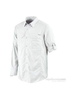 Columbia Silver Ridge Long Sleeve Shirt Am7453 / 100 - L
