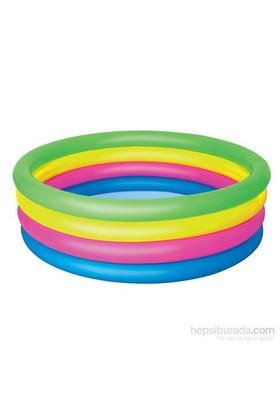 Bestway Renkli 4 Halkalı Şişme Havuz - 51117