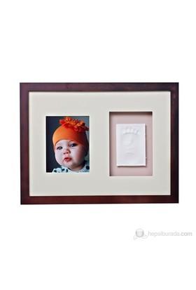 Baby Memory Prints El ve Ayak İzi Duvar Çerçevesi
