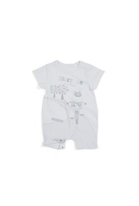 Zeyland Erkek Çocuk Beyaz Tulum - K-61H1506