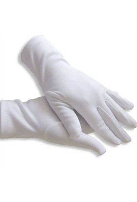 Pandoli Pandomim Eldiveni Beyaz Renk