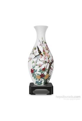 Pintoo Çiçekler Ve Şakırdayan Kuşlar - 160 Parça Vazo Puzzle
