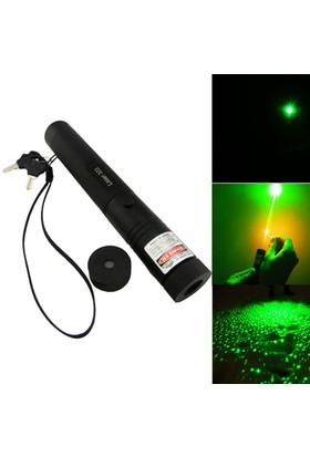 CSI- 303 Kibrit Yakabilen 300Mw +Anahtar Emniyetli Yeşil Lazer Pointer