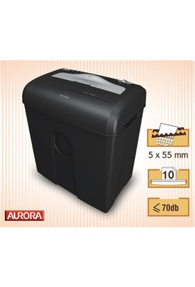 Aurora AS1030 CD Evrak İmha Makinesi (159 03 0296)