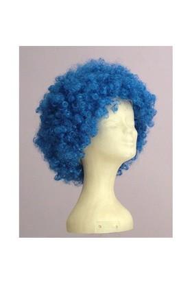 Sentetik Mavi Bonus Saç