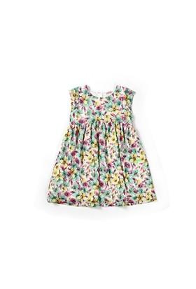 Zeyland Kız Çocuk Sarıcıceklı Elbise - K-61Z4ARL31