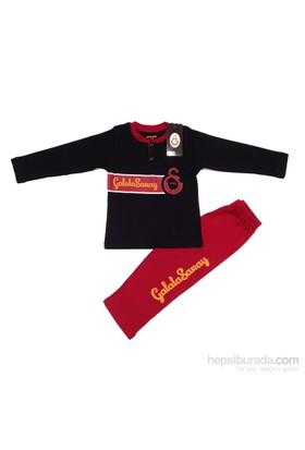Galatasaray Gsstore Lisanslı Eşofman Takımı-Siyah
