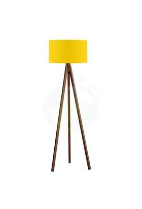 Bs Maison 3 Ayaklı Tripod Lambader Sarı Kahve