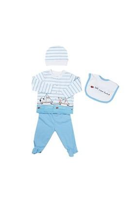 Zeyland Erkek Çocuk Çizgili 4 Lu Hastane Çıkışı - K-61H1200