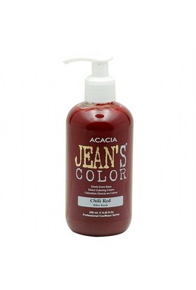 Acacia Jeans Color Saç Boyası Biber Kızılı 250 Ml