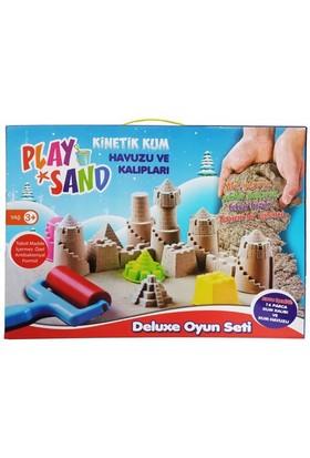 Play Sand Kinetik Kum Havuzu Ve Kalıpları