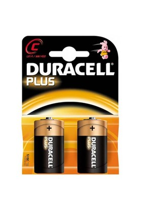Duracell C Ortaboy Pil 2Li
